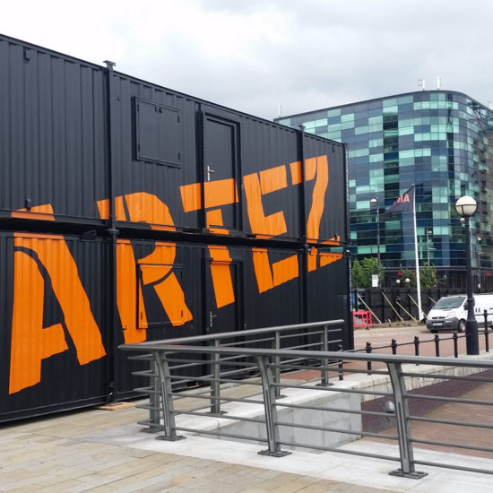 Signs Northwest - Artez Container Branding.