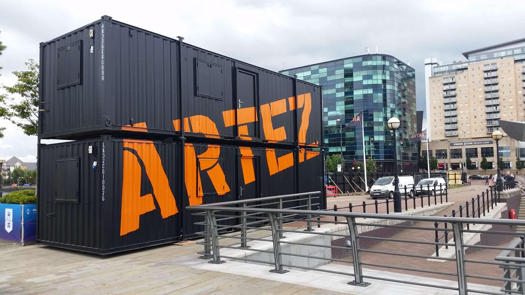 Signs Northwest - Artez Container Branding.