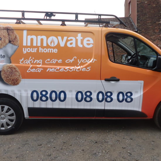 Full Vehicle Wrap For 'Innovate'