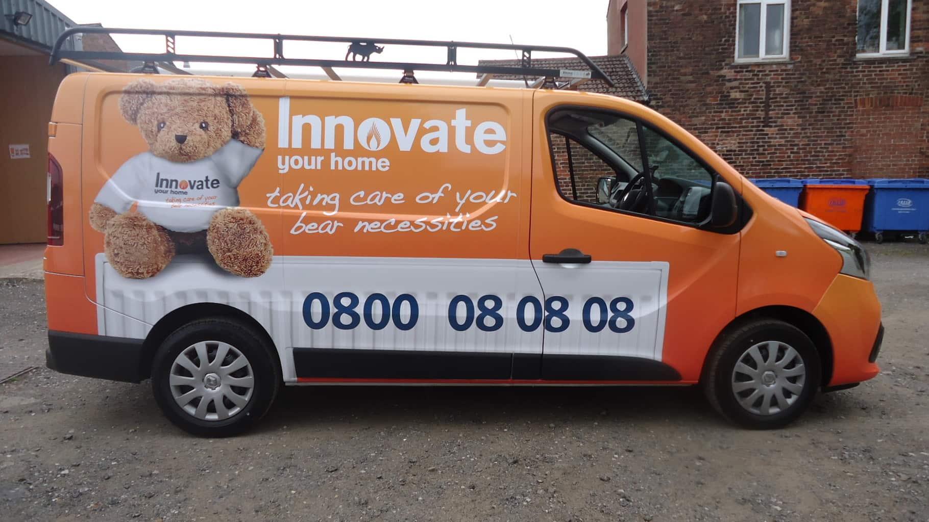 Full Vehicle Wrap For 'Innovate'