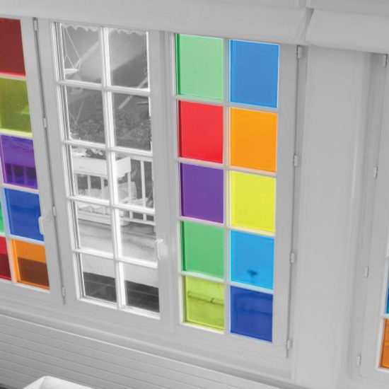 coloured window film office coloured glass film glass manifestation frosted window film manchester 0161 776 0527