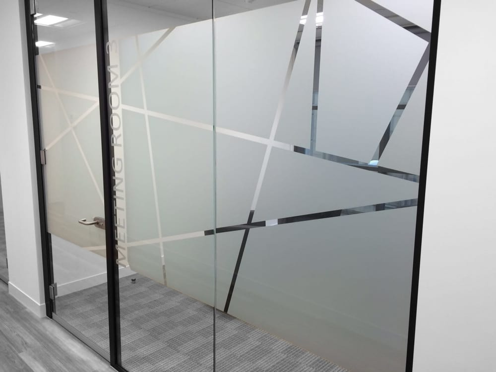 Frosted Window Glass Designs