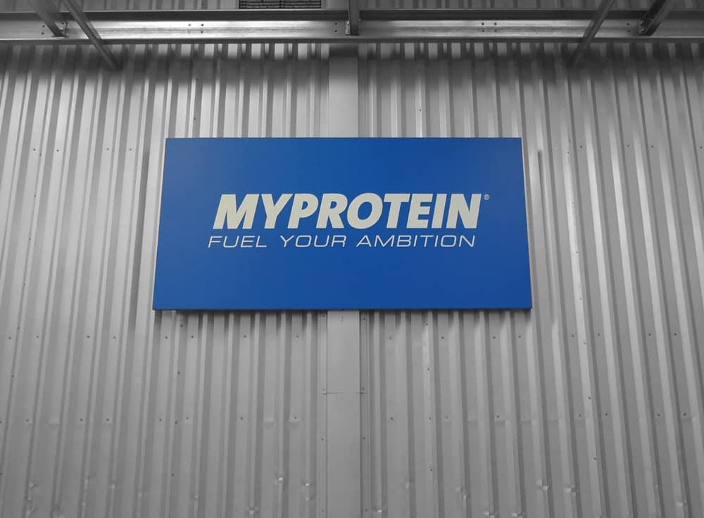 My Protein Sign Signs Northwest