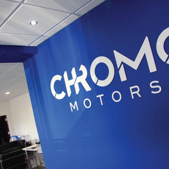 Chrome Acrylic Letters