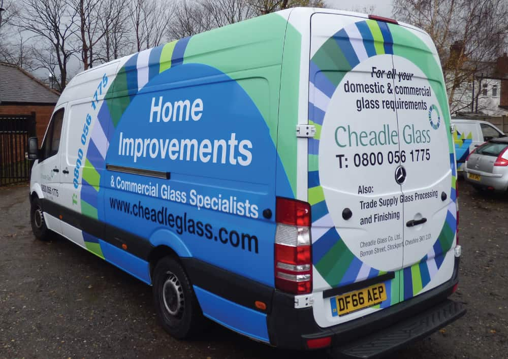 Cheadle Glass Livery