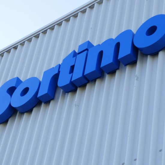 sortimo-building-sign
