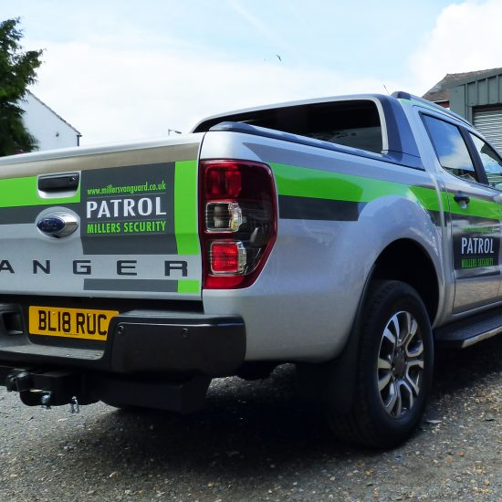 Millers Ford Ranger Livery