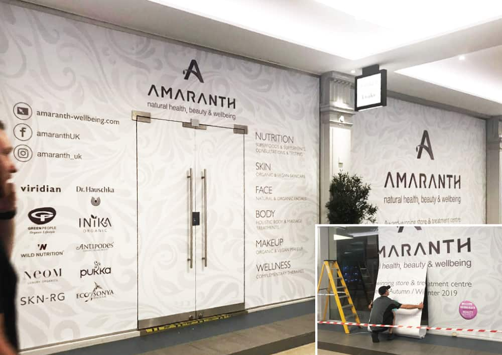 amaranth window graphics