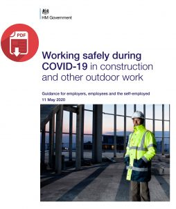 Working safely during COVID-19 in construction