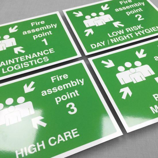 Fire Assembly Signs